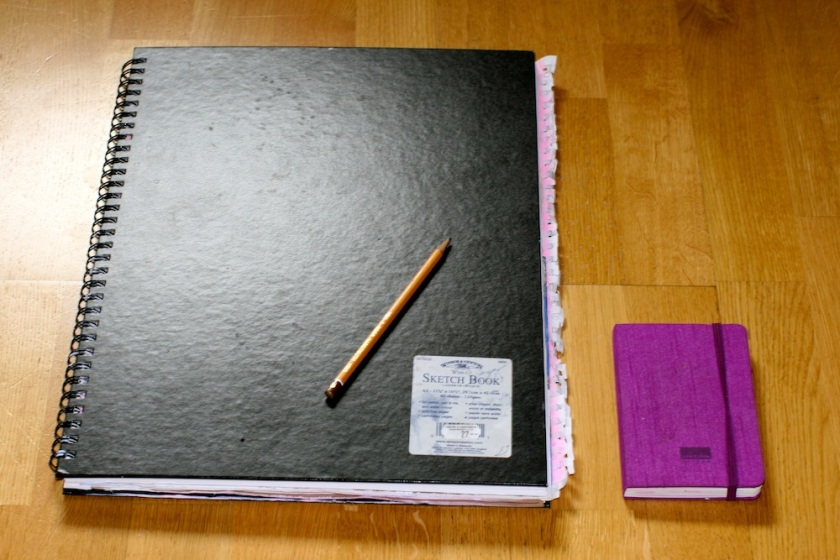 For a start, I should have chosen not as huge (or small) notebooks Size does matter! ;)