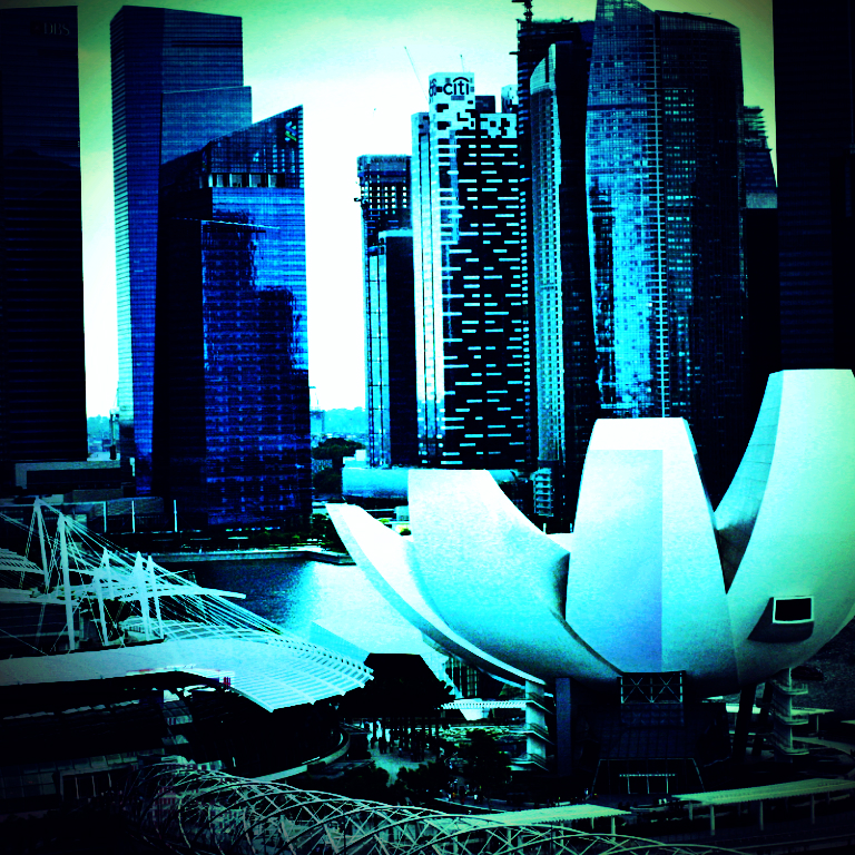 futuristic singapore