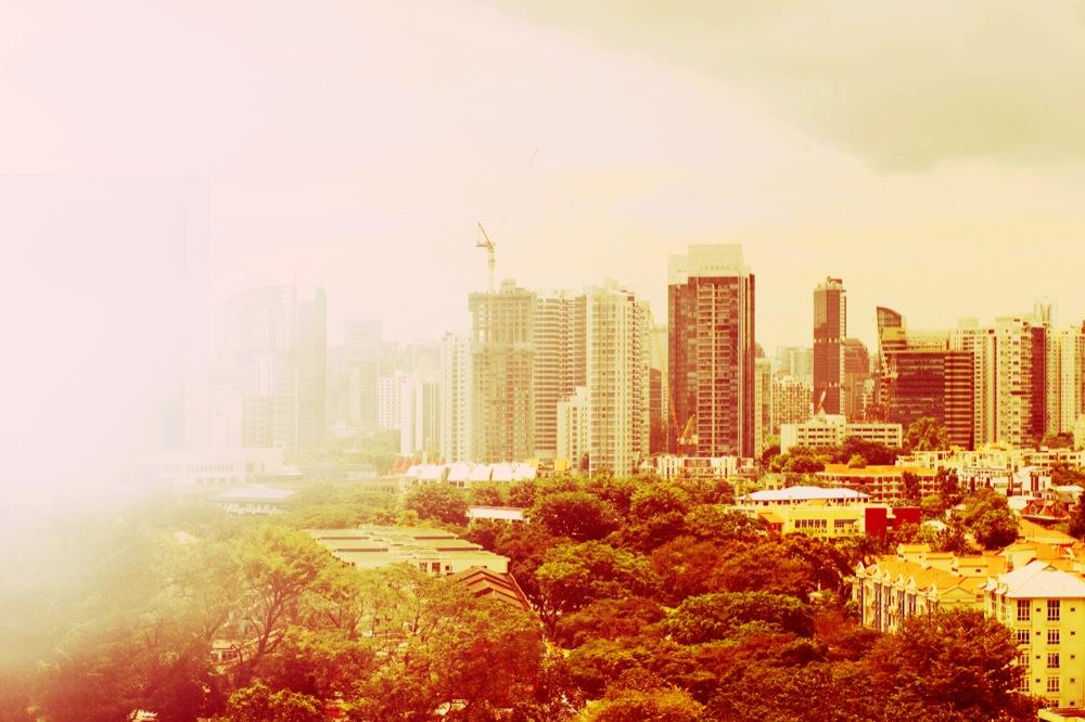 Pink Air of Singapore